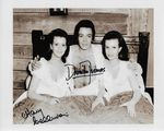 "Damien Thomas & Mary Collinson ""Twins of Evil Hammer Horror - Genuine Signed Autograph 11315"